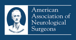 American Association of Neurological Surgeons Logo for IDD Therapy Presentation