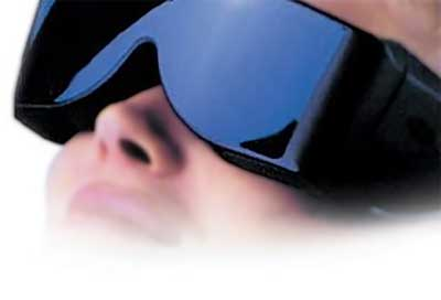 RelaxEase Image of Relaxation glasses. Similar to RelaxMate by Norman Shealy